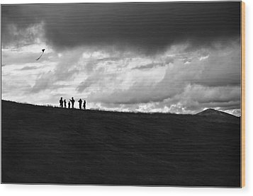 Our Time Wood Print by Jason Green