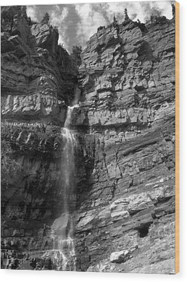 Ouray Waterfall Wood Print