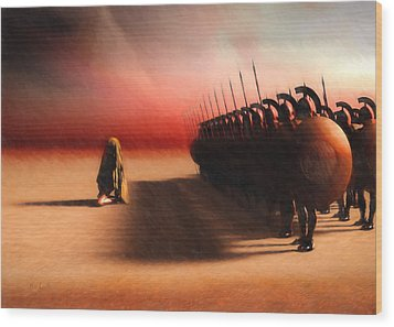 Out Of Egypt Wood Print by Bob Orsillo