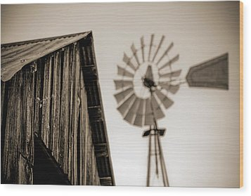 Wood Print featuring the photograph Out Of Focus by Amber Kresge