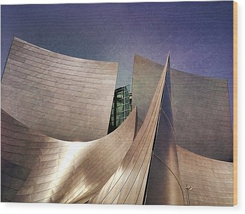 Outer Planes Wood Print by Mark David Gerson