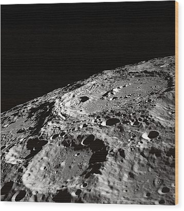 Outer Space Two Four Zero Wood Print by Nasa Usgs