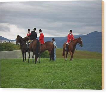 Outriders Wood Print