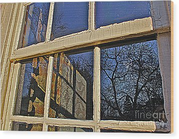 Wood Print featuring the photograph Outside In by Geri Glavis