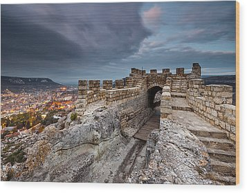 Ovech Fortress Wood Print by Evgeni Dinev