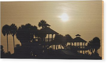 Overcast Wood Print by Don Durfee