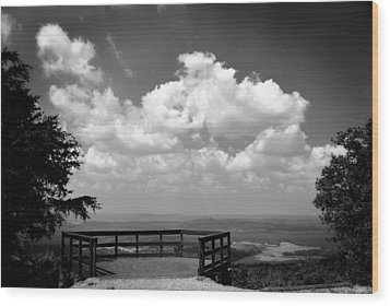 Overlook 1 Wood Print