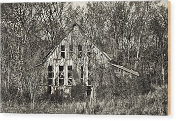Wood Print featuring the photograph Overtaken by Greg Jackson