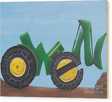 Owen Wood Print by Tracie Davis