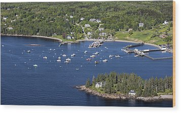 Owls Head, Maine Me Wood Print by Dave Cleaveland