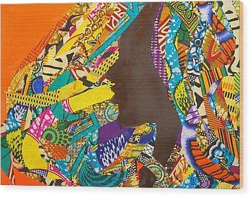 Oya I Wood Print by Apanaki Temitayo M