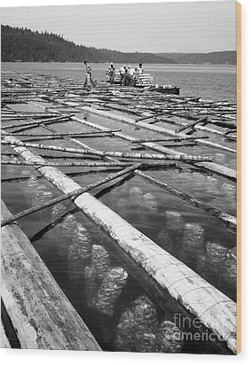 Wood Print featuring the photograph Oystering Industry by Merle Junk