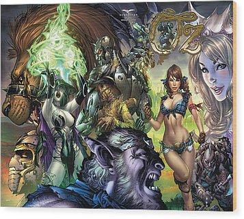 Oz 01k Wood Print by Zenescope Entertainment