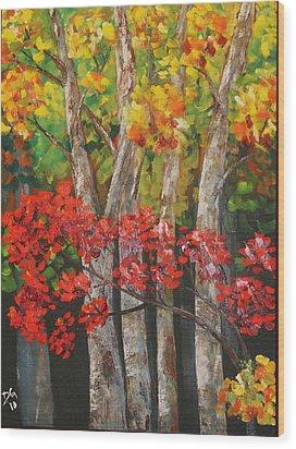 Ozark Woods Wood Print