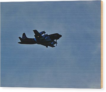 P-3 Orion Hero # 25 Wood Print