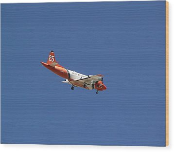P-3 Orion Hero's Return Day Wood Print