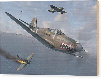 P-400 Hells Bells Wood Print