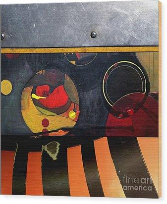 p HOT 115 Wood Print by Marlene Burns