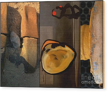 p HOTography 140 Wood Print by Marlene Burns