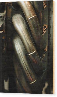 P611 Wood Print