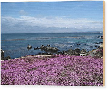 Wood Print featuring the photograph Pacific Grove California by Joyce Dickens