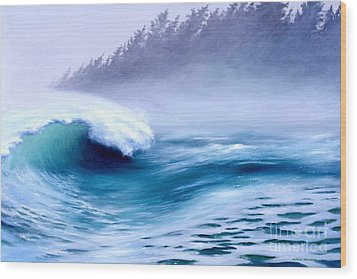 Pacific Power  Wood Print by Michael Swanson