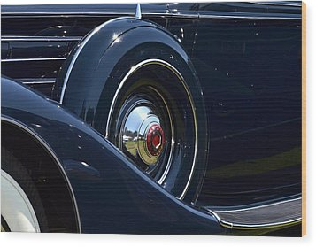 Wood Print featuring the photograph Packard - 1 by Dean Ferreira