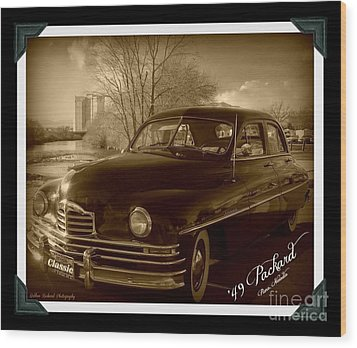Packard Classic At Truckee River Wood Print