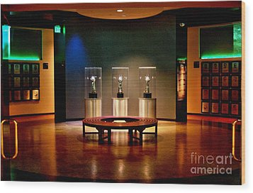 Packer Hall Of Fame Wood Print by Tommy Anderson