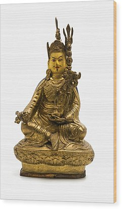 Wood Print featuring the photograph Padmasambhava by Fabrizio Troiani