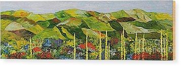 Pageantry Wood Print by Allan P Friedlander