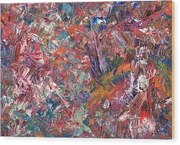 Paint Number 50 Wood Print by James W Johnson