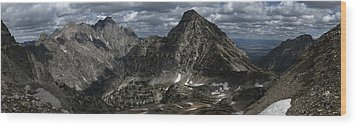 Paintbrush Divide Wood Print by Raymond Salani III