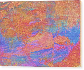 Painted Desert Wood Print