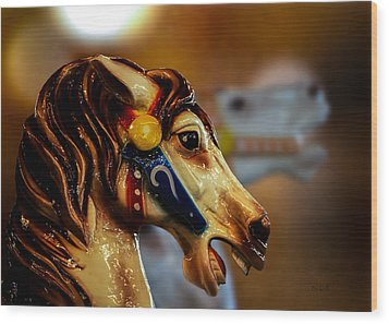 Painted Pony  Wood Print by Bob Orsillo