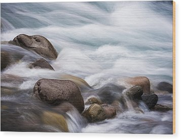 Wood Print featuring the photograph Painted Water by Brian Bonham