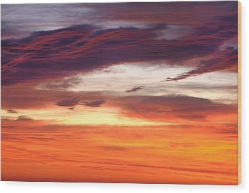 Wood Print featuring the photograph Painterly Sunrise On The Blue Ridge Parkway by Photography  By Sai