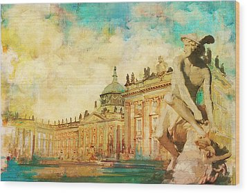 Palaces And Parks Of Potsdam And Berlin Wood Print by Catf