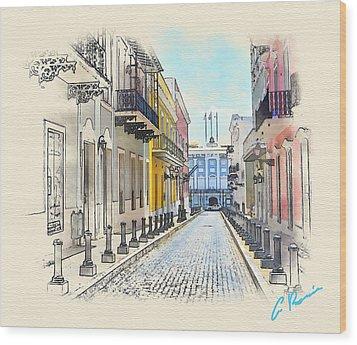 Palacio Santa Catalina Wood Print