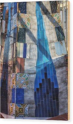 Palau Guell Wood Print by Joan Carroll