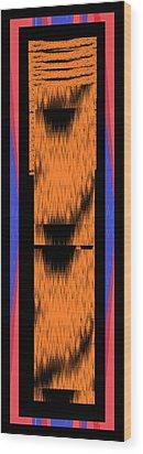 Palestine Wood Print by Cletis Stump