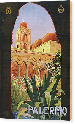 Palermo Wood Print by Pg Reproductions