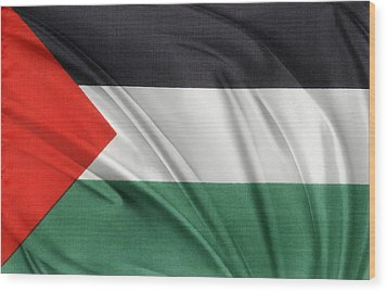Palestine Flag Wood Print