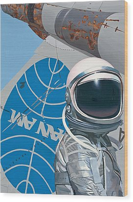 Pan Am Wood Print by Scott Listfield