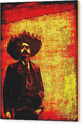 Pancho Villa Wood Print