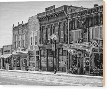 Wood Print featuring the photograph Panguitch Utah by Kathy Churchman