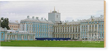 Wood Print featuring the photograph Panorama Catherine Park Castle by Art Photography