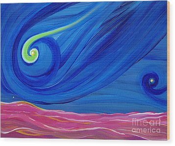 Panspermia  Wood Print by First Star Art