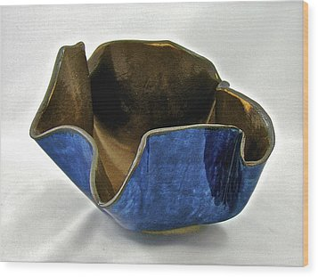 Paper-thin Bowl  09-005 Wood Print