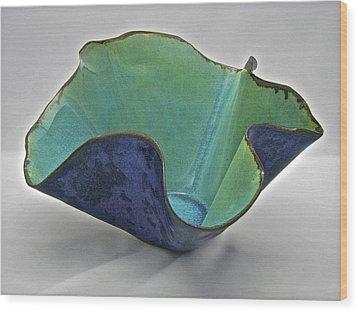 Paper-thin Bowl  09-006 Wood Print